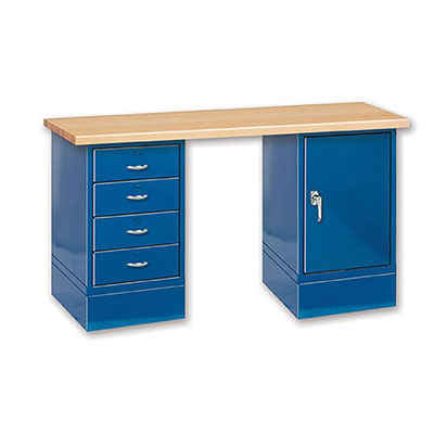 CDB Series Drawer & Door Cabinets Wood Top