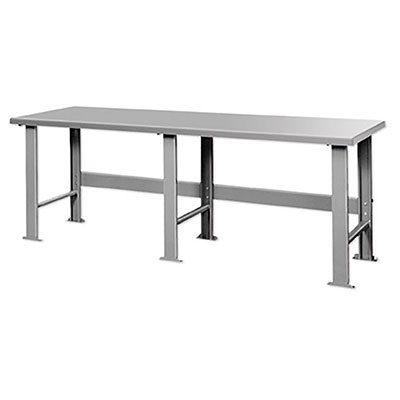 "F Series Welded Steel Benches Basic 96"" Wide"