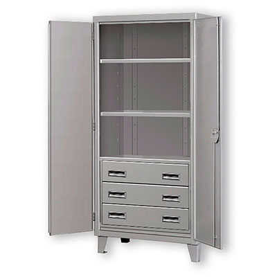 HDSC-D Series- Heavy Duty Cabinets w/ 3 Drawe