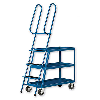 LT Series Ladder Stock Carts