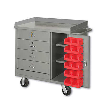 PDC-36 Series Mobile Cabinet Benches