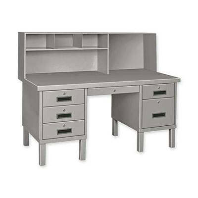 Heavy Gauge Steel Shop Desk