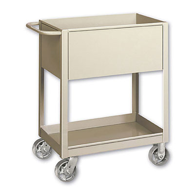 TSC Series Welded Box Cart,  6' Box Depth