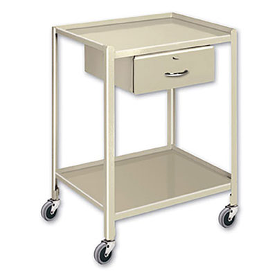 TU Series Utility Tables & Carts 20'W x 28'D w/ 2 Shelves & 1 Drawer