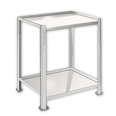 2 Shelf, TU-SS Series Stainless Steel Utility Carts & Tables