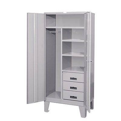 WSC Series - Wardobe Storage Cabinets w/ 3 Drawers