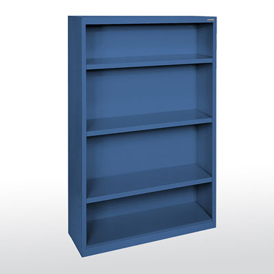 "Elite Welded Bookcases, 12"" Deep - 14 Color Options"