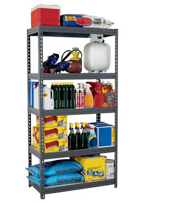 Boltless Rivet Shelving