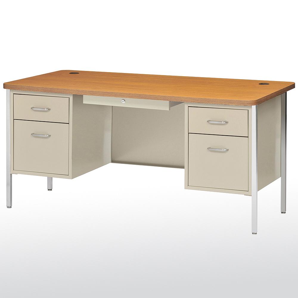 Sandusky Cabinets DQ6030 600 Series Double Pedestal