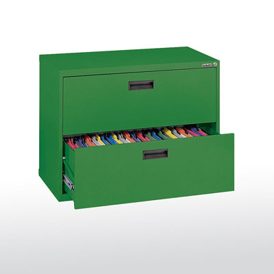 2 Drawer - 400 Series Lateral File Cabinet