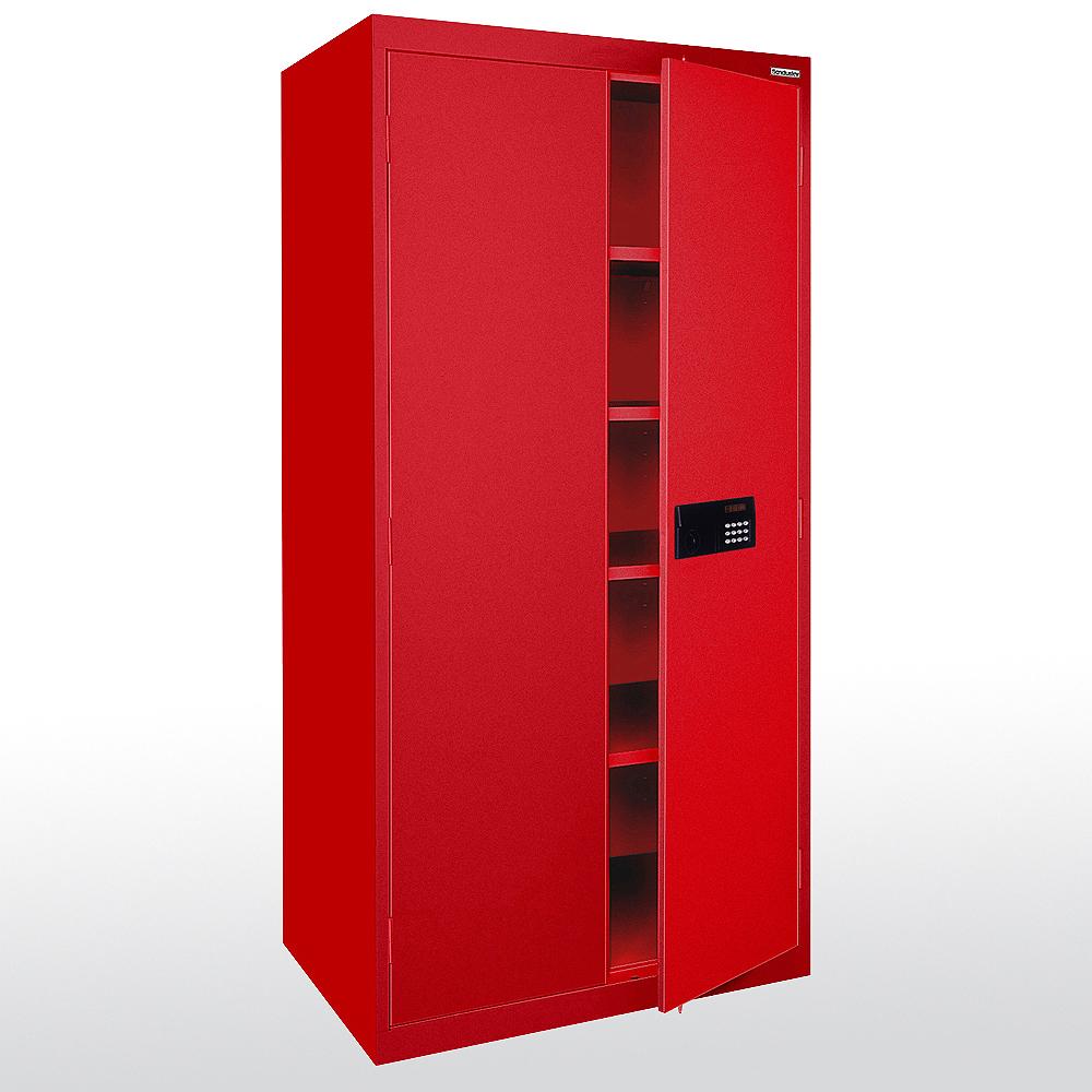 Sandusky Deluxe Steel Welded Storage Cabinet 72 H X 36 W 18 D