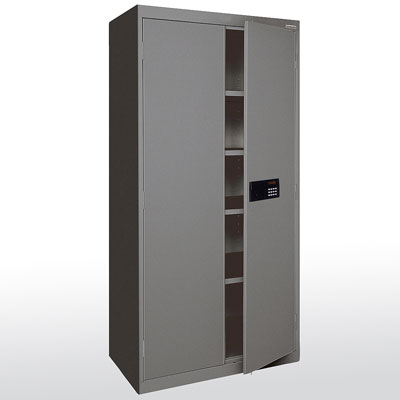 "Elite Series Keyless Electronic Welded Storage Cabinet, 36""W x 18""D x 72""H - 14 Color Options"