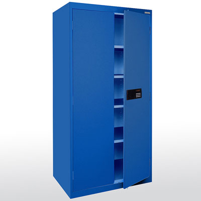 Sandusky Lee Great Cabinets For Storing All Your Computer Gear