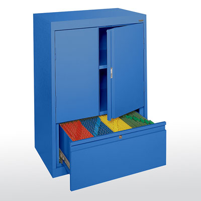 Systems Series Counter Height with Drawer - 14 Color Options