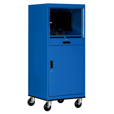 Mobile Computer Security Cabinet - 5 Color Options