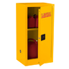 Compact Flammable Safety Cabinet - 16 Gallon Capacity