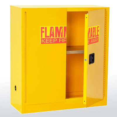 Counter Height Flammable Safety Cabinet - 30 Gallon Capacity