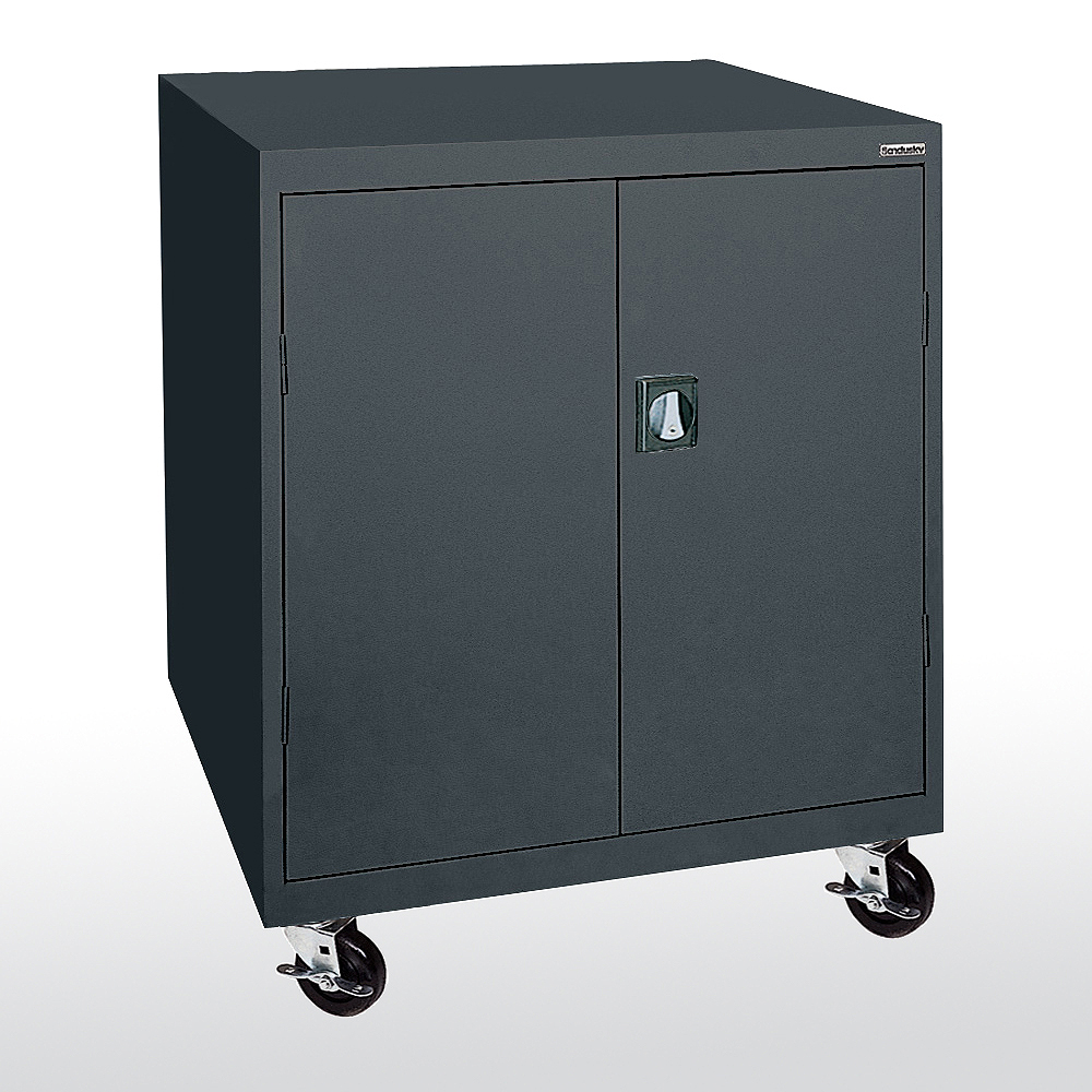 Counter Height Storage Cabinet : ... Cabinets, TA21362442, Mobile Counter Height Storage - Metal Cabinet