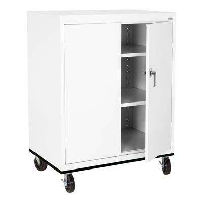 Mobile Counter Height Storage