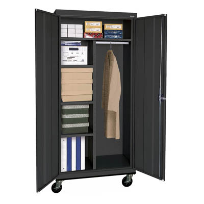 "Transport Series Mobile Combination Cabinet, 36""W - 14 Color Options"