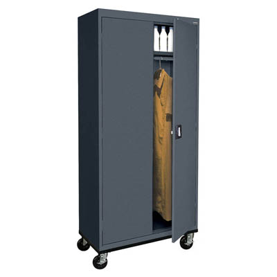"Transport Series Extra Wide Mobile Wardrobe, 46"" Wide"