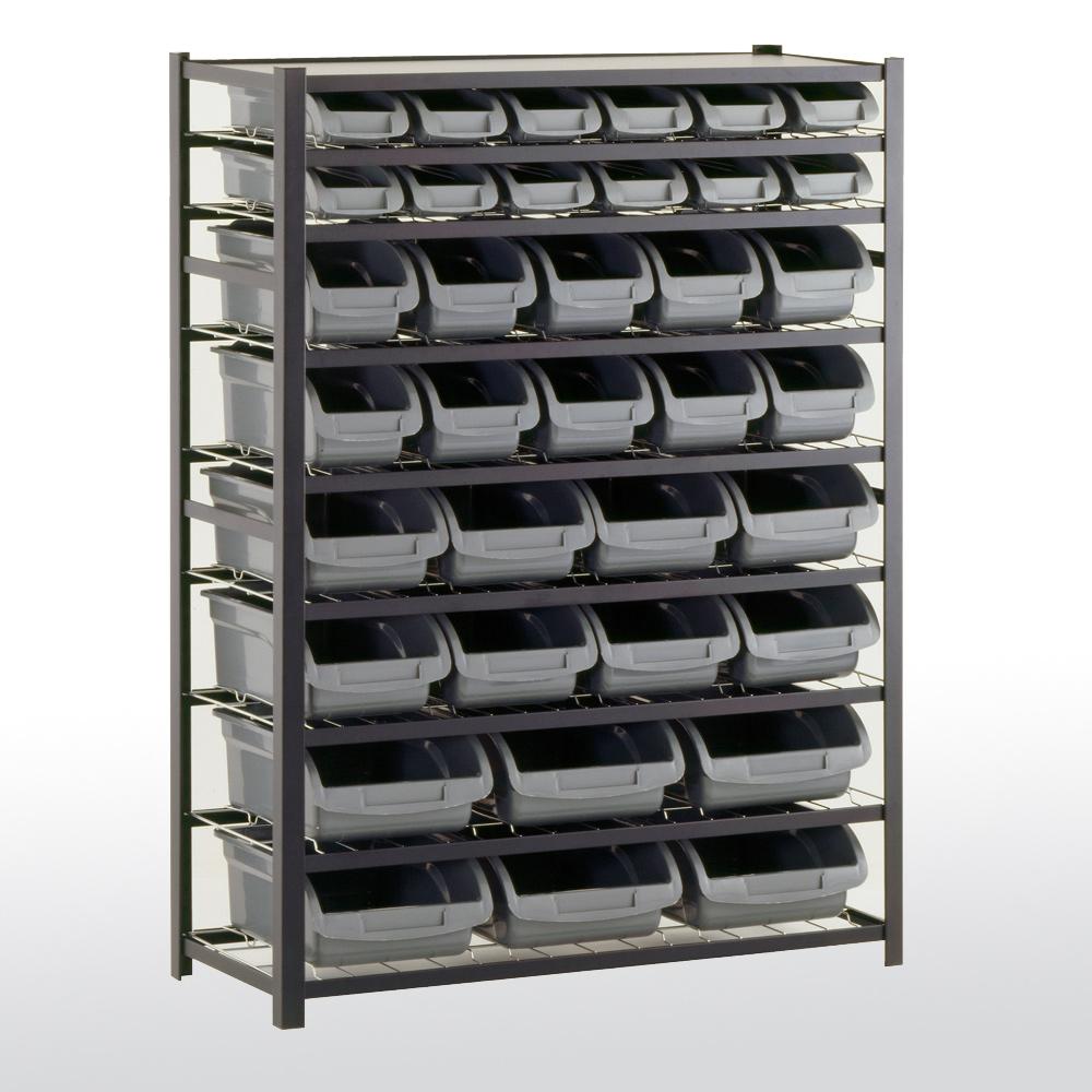 sandusky cabinets ur4416bin36 bin shelving unit 36. Black Bedroom Furniture Sets. Home Design Ideas