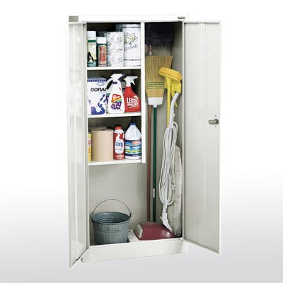 Value Line Janitorial Supply Cabinet - 3 Color Options