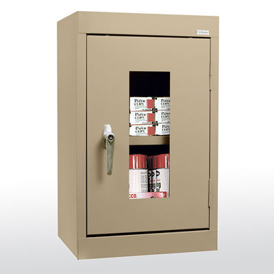 Clear View Wall Cabinet - Single Door - 14 Color Options