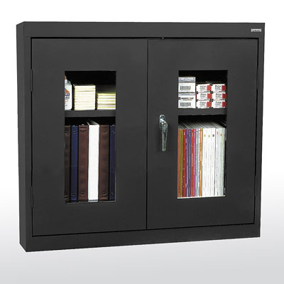 Clear View Wall Cabinet - 14 Color Options