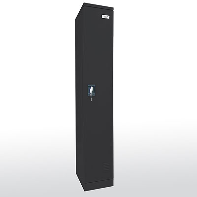 Snap It, Easy To Assemble, Full Length Single Wide Locker - 3 Color Options