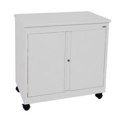 Mobile Desk Height Utility Cabinet