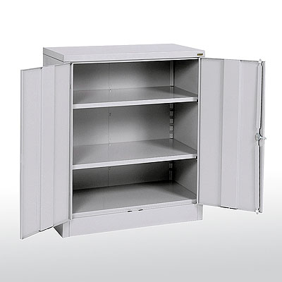 KDSnapit Storage Cabinet, Easy To Assemble, Counter Height