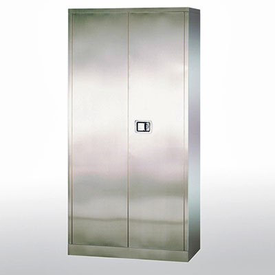 "Stainless Steel Cabinet, 36""W x 18""D x 72""H"