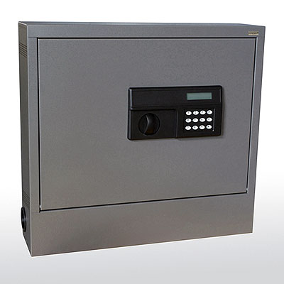 Wall-Mount Laptop Safe/Security Cabinet