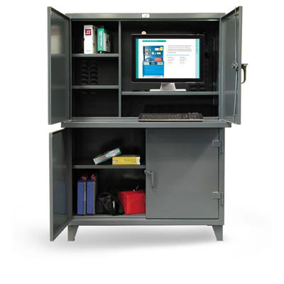 4.56-CC-244, Multi-Compartment Computer Workstation