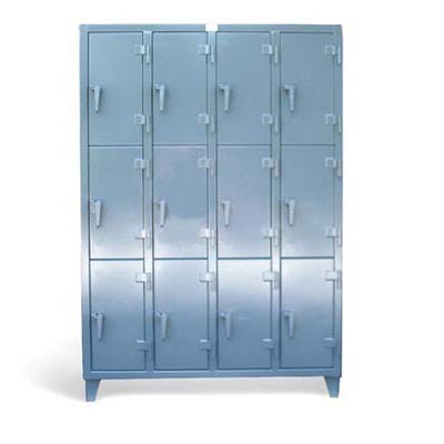5.16.11-24-3TMT, Triple-Tier 12 Compartment Industrial Locker