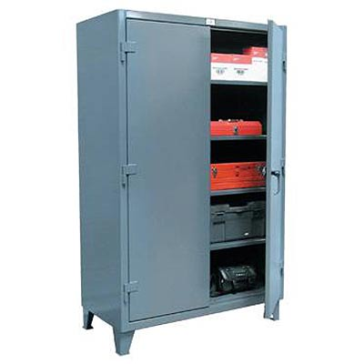 "Industrial 12-Gauge Storage Cabinet, 48"" Wide"