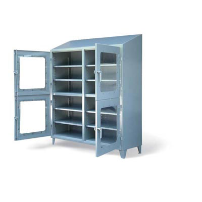 4 Compartment Clear View Cabinet