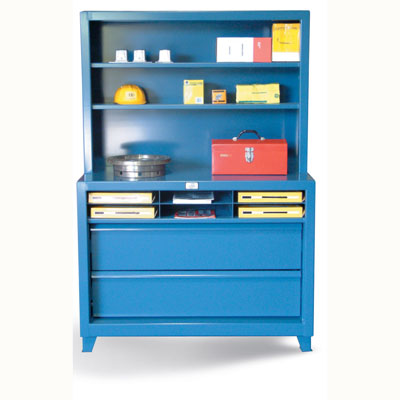 Shelving Unit with 2 Drawers