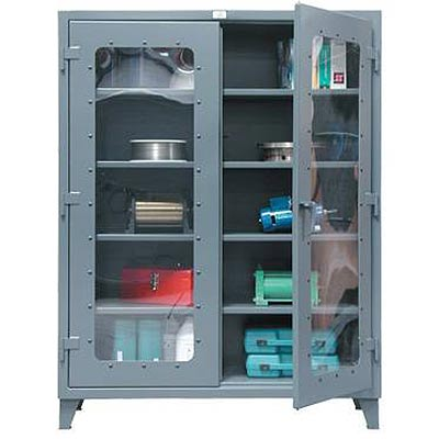 56-LD-244, 12-Gauge, Clearview Cabinets, 60'W