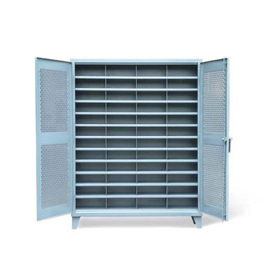 56-V-1611-48OP, Ventilated Cabinet With Vertical Dividers, 48 Openings