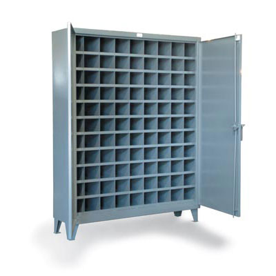 56-1610-99OP, Metal Bin Storage Cabinet with 99 Compartments