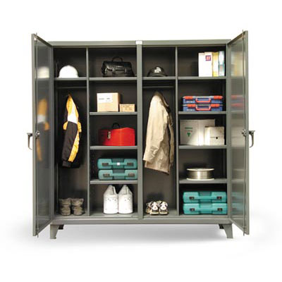 66-DSW-2410, Double Shift Uniform / Combination Cabinet