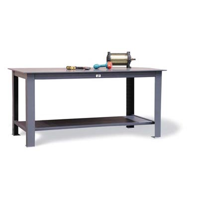 Heavy-Duty Table With 1/2' Steel Plate Top, 16-20,000 Lbs. Capacity