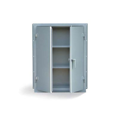 34-WM-142, Wall Mounted Industrial Cabinet With 2 Shelves