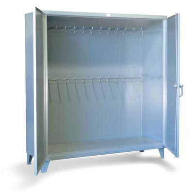Industrial Storage Cabinet with Hanger Pegs