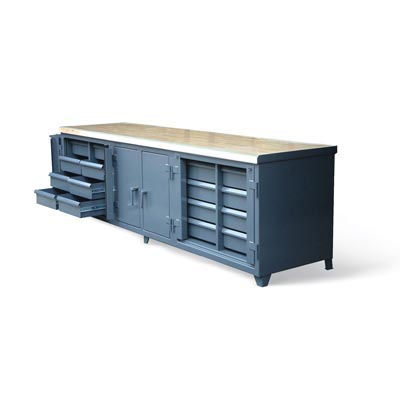 103.1-300-MT-LT-VS-16DB-LB, Ultimate Workbench With Maple Top