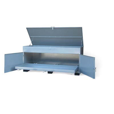 JB-15327, Utility Job Box With Slide Out Bottom Tray
