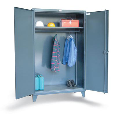 36-WR-241, Wardrobe / Uniform Cabinet with Full Width Rod, 36'W