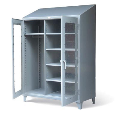 Wardrobe Cabinet with See-Thru Doors